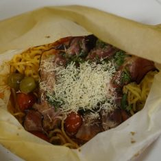 Spaghetti Venezia - dinner menu