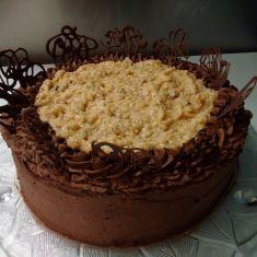 German cholcolate cake
