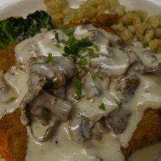 Mushroom Schnitzel